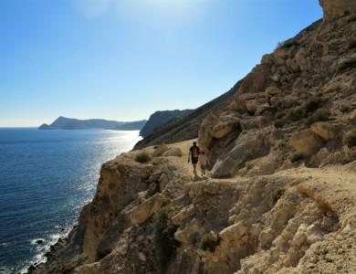 Wandelen door Natuurpark Cabo de Gata (kust van Almeria)